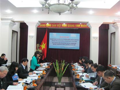 Tổng kết công tác năm Ban điều phối các hoạt động hỗ trợ người khuyết tật Việt Nam (NCCD)