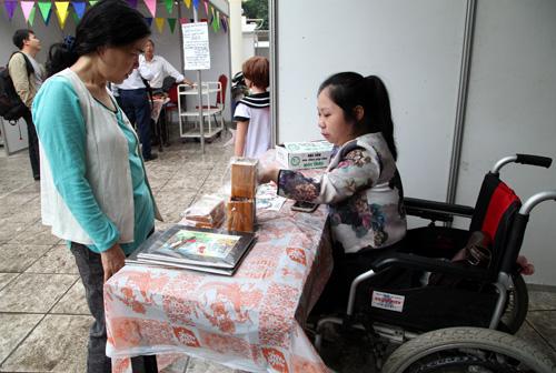 Hội thảo Chính sách, giải pháp tín dụng phát triển đào tạo nghề - tạo việc làm và giới thiệu sản phẩm của người khuyết tật