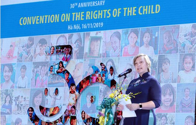 Việt Nam ưu tiên đầu tư thiết thực nhất tới mọi trẻ em hướng tới tương lai  - Ảnh 3.