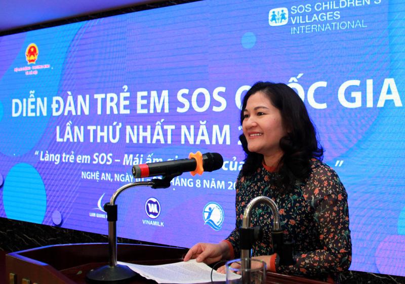 Diễn đàn trẻ em SOS quốc gia lần thứ I: Thảo luận 5 nhóm chủ đề chính - Ảnh 2